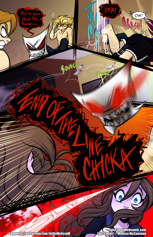 Epic Chaos! Chapter 3 Page 39