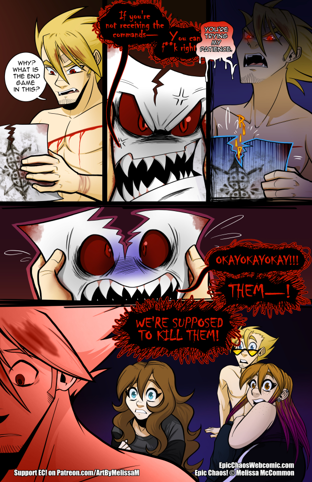 Epic Chaos! Chapter 3 Page 42