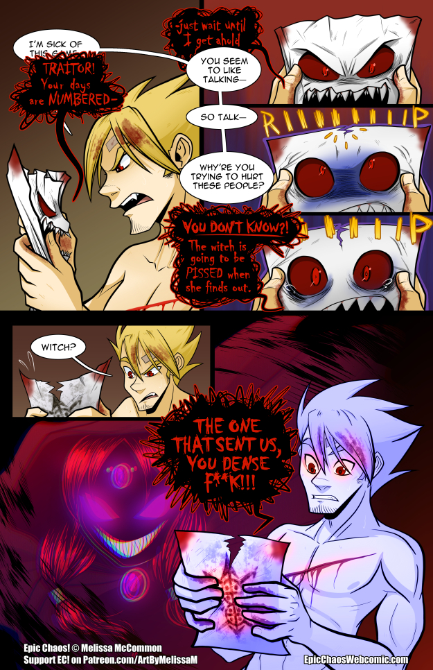 Epic Chaos! Chapter 3 Page 41