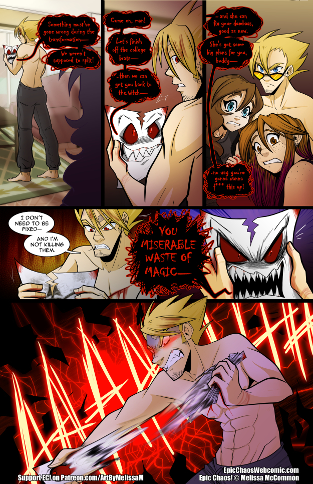 Epic Chaos! Chapter 3 Page 43