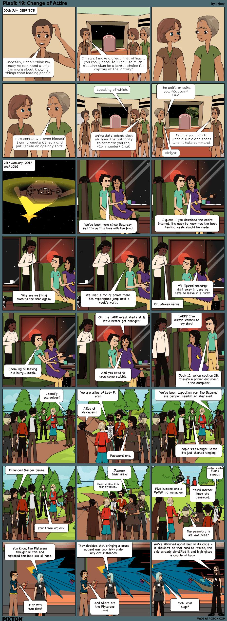 1x19: Change of Attire