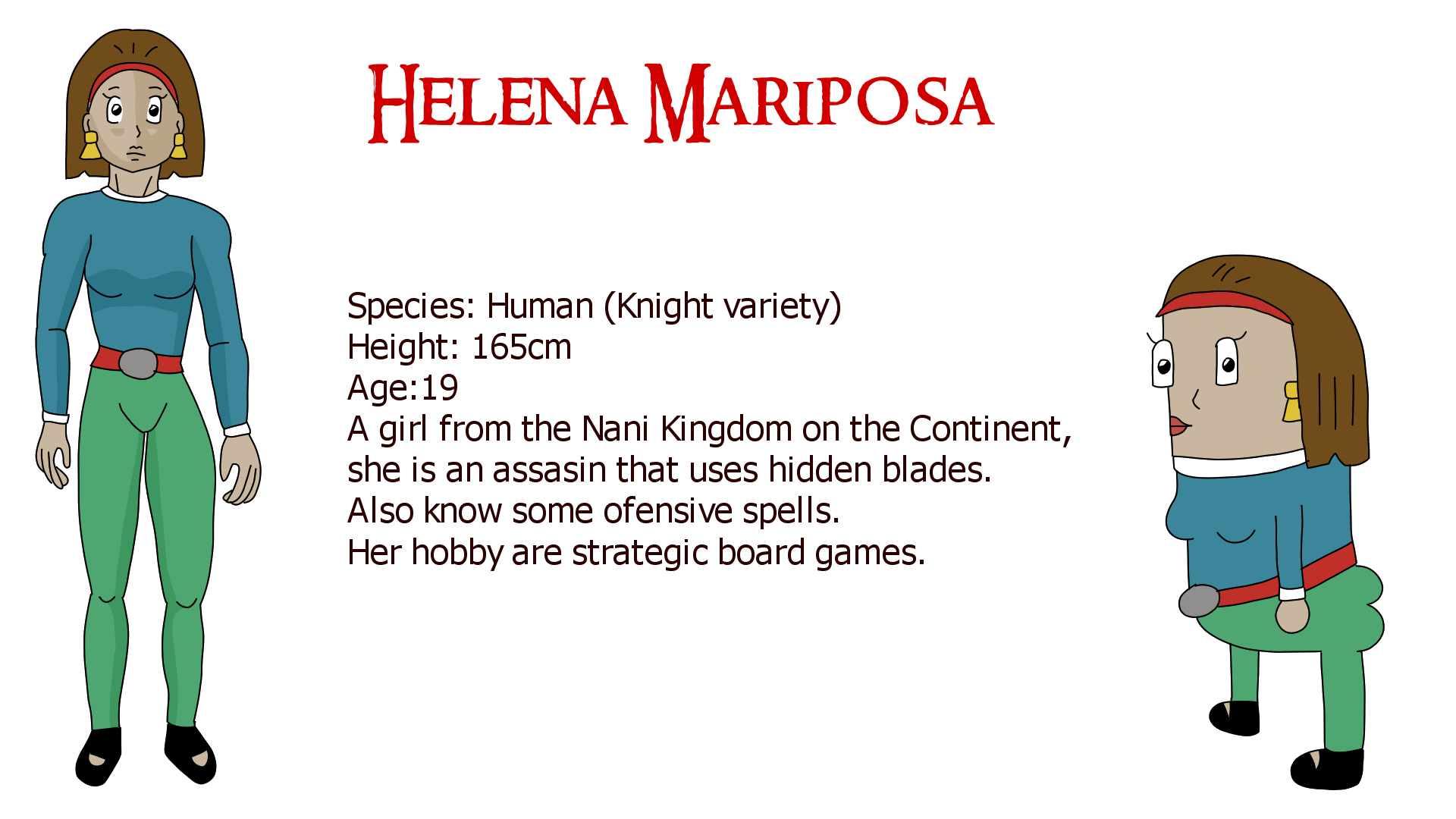 Helena Mariposa by Zero Hour