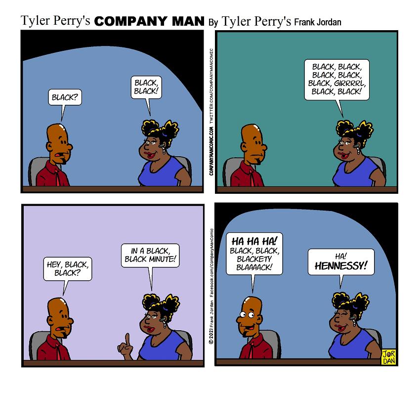 #Blackest #ComicStrip EVER!