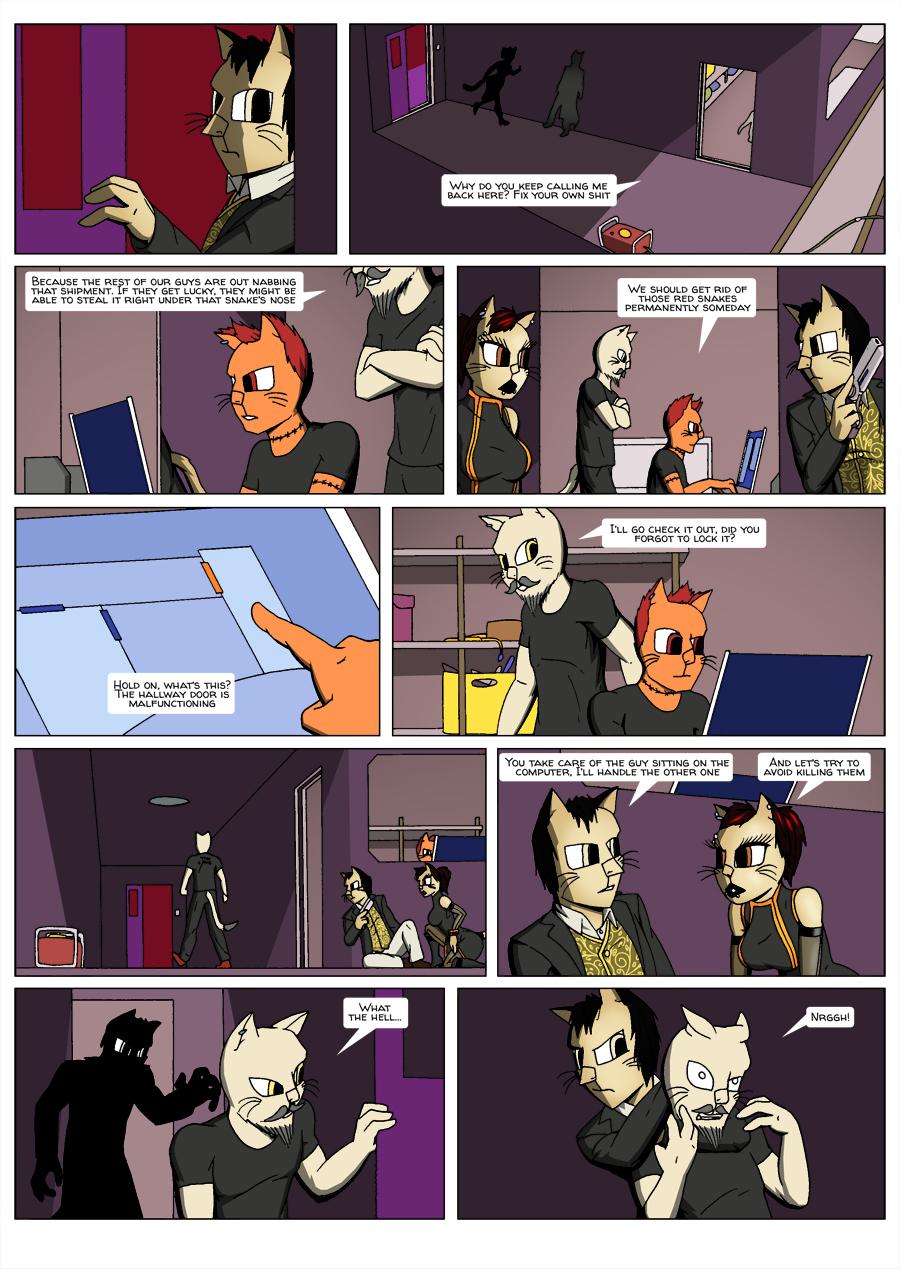 Escape Velocity: Old habits page 22
