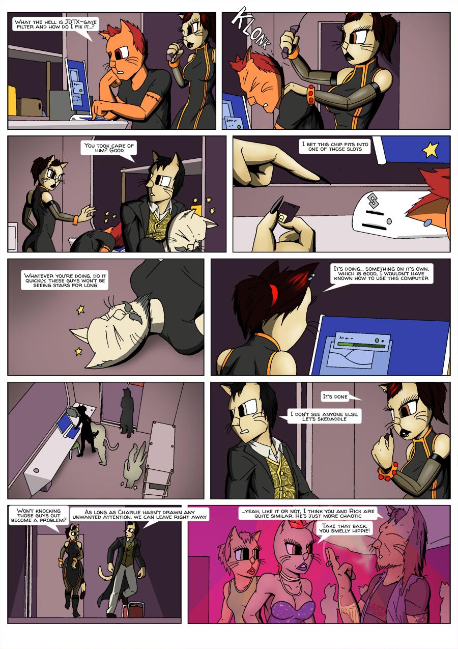 Escape Velocity: Old habits page 23