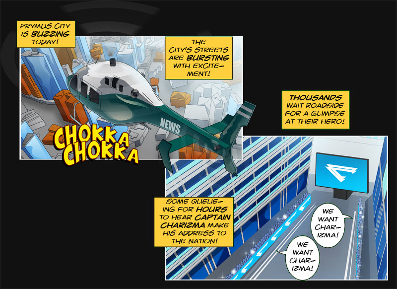 Issue 10 - 'Robo-Rowdydow' Page 1