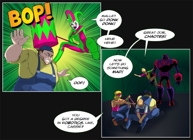 Issue 10 - 'Robo-Rowdydow' Page 4