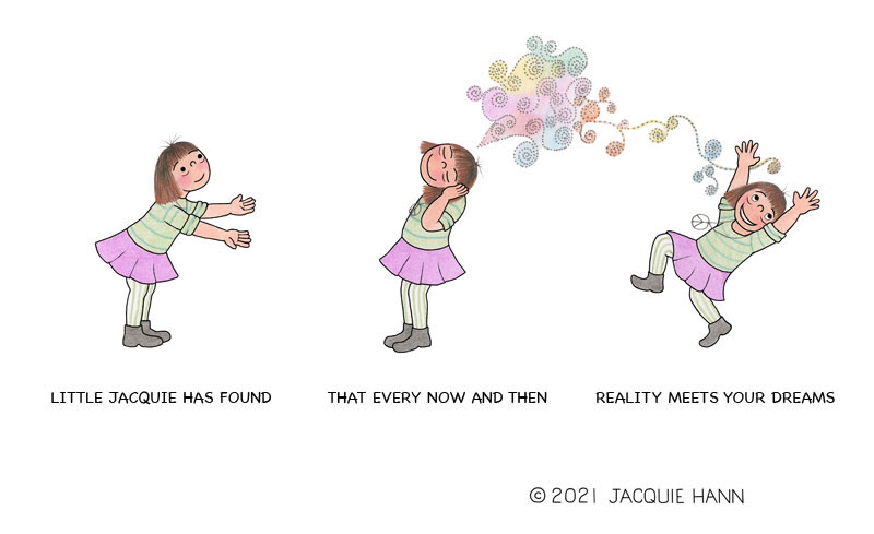 Little Jacquie on Dreams and Reality by Jacquie Hann