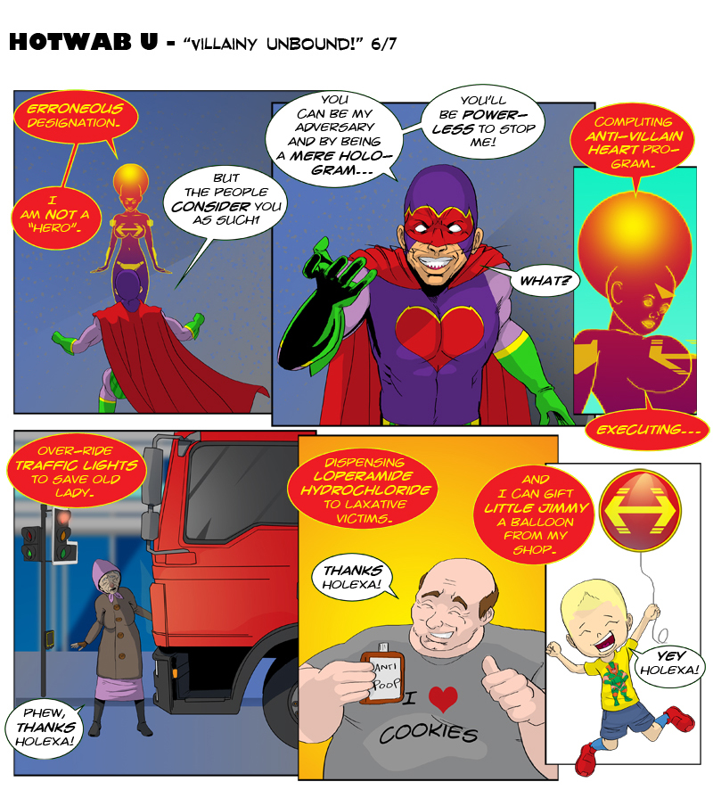 Issue 10 - 'Robo-Rowdydow' Page 6