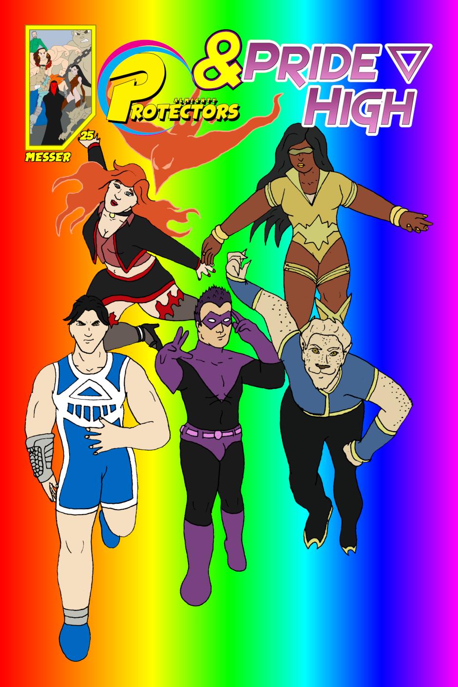 Cover: issue 25 - Scholastic Scuffle