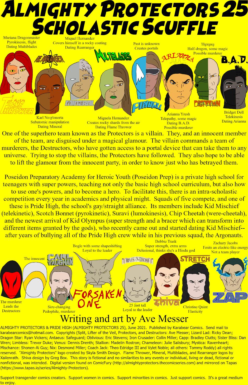 Inside cover: issue 25 - Scholastic Scuffle