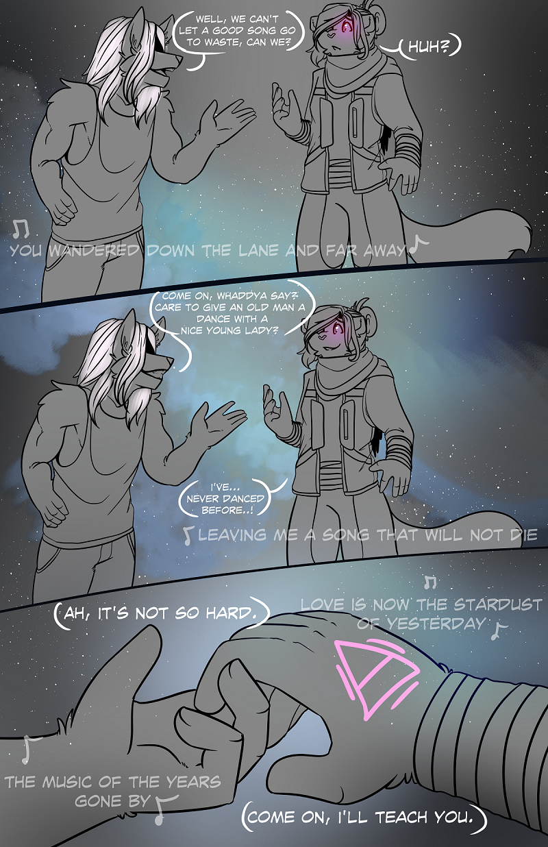 Stardust Part 2 -Guest Comic by Chilled-Space