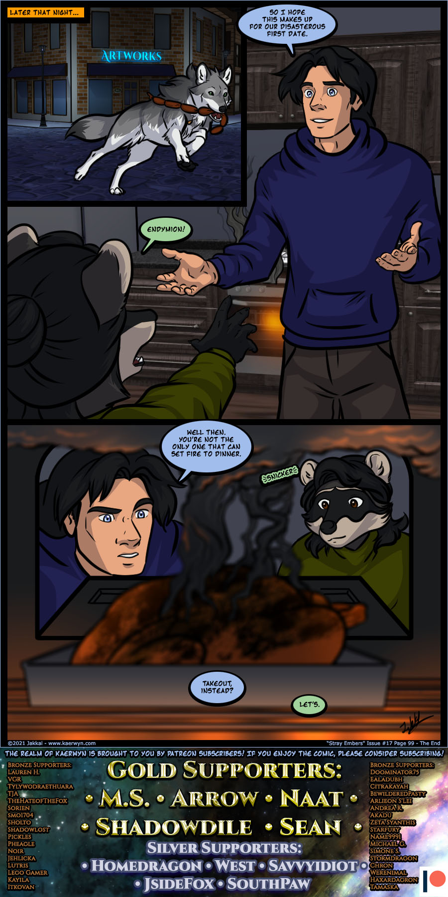 Kaerwyn Issue 17 Page 99 - The End