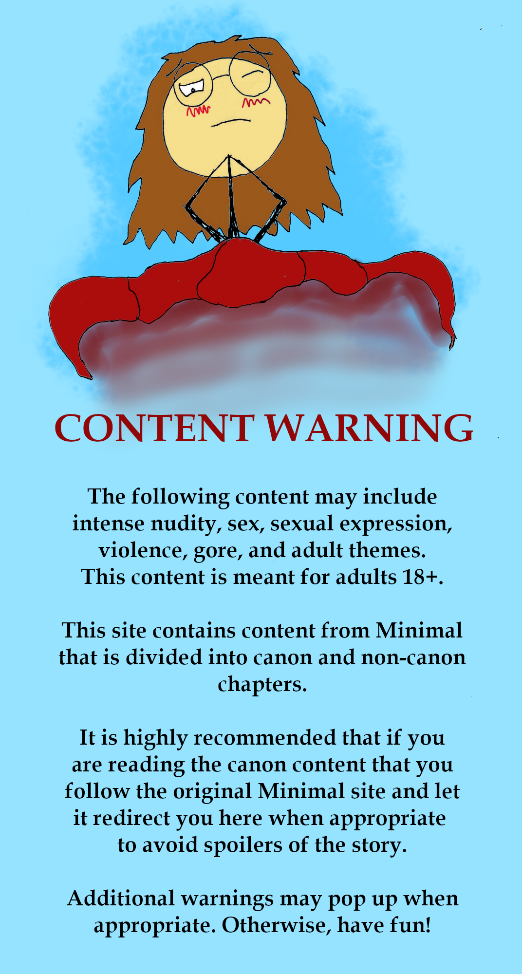 Content Warning Page
