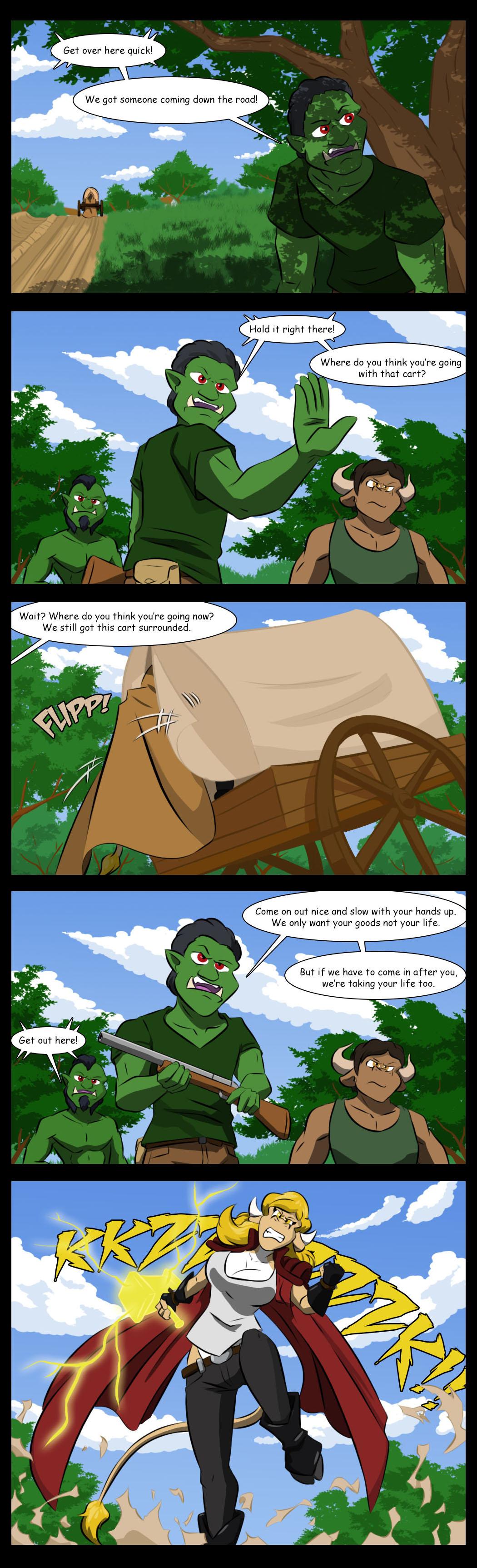 Surprise cart
