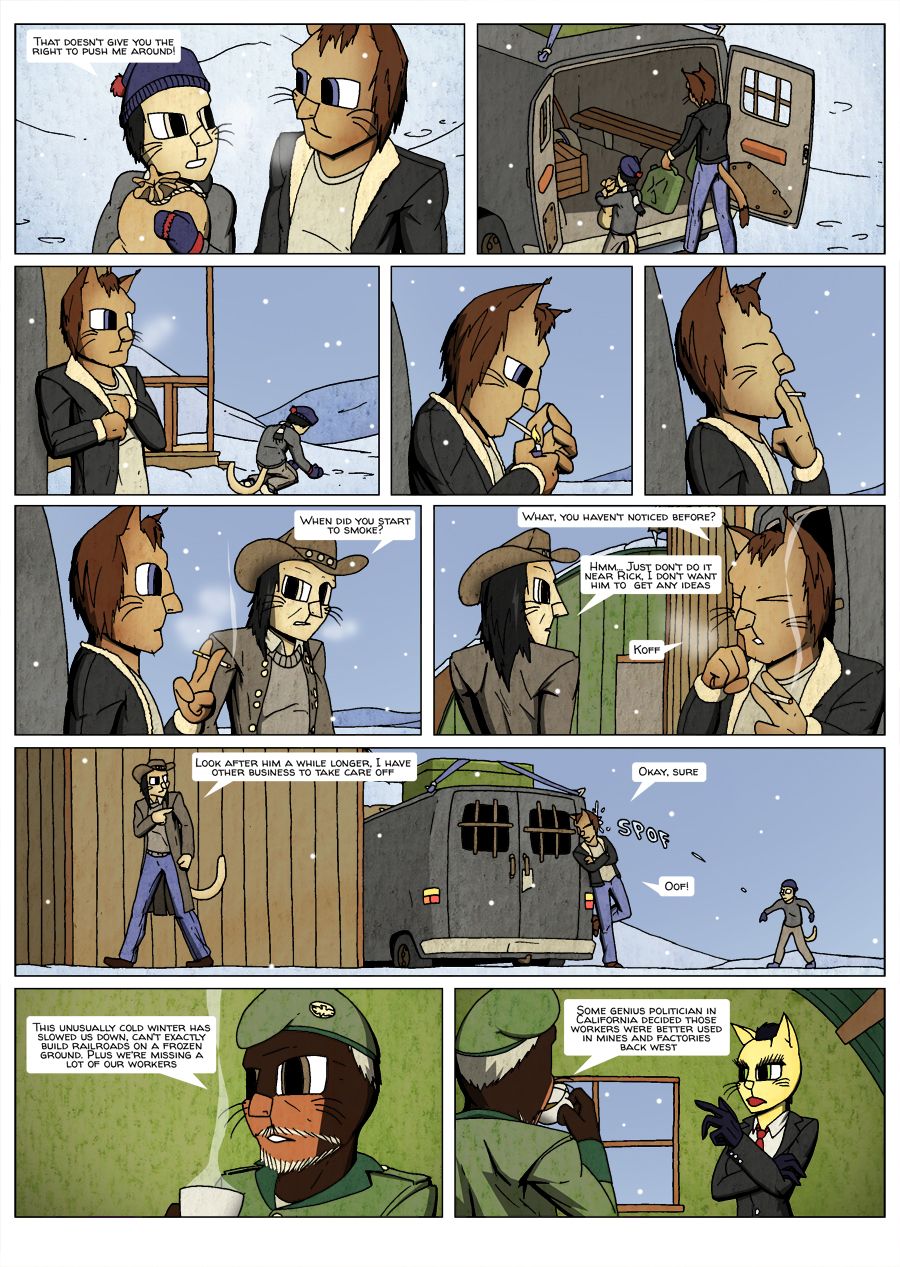 Ninth Life: Dead of Winter page 2