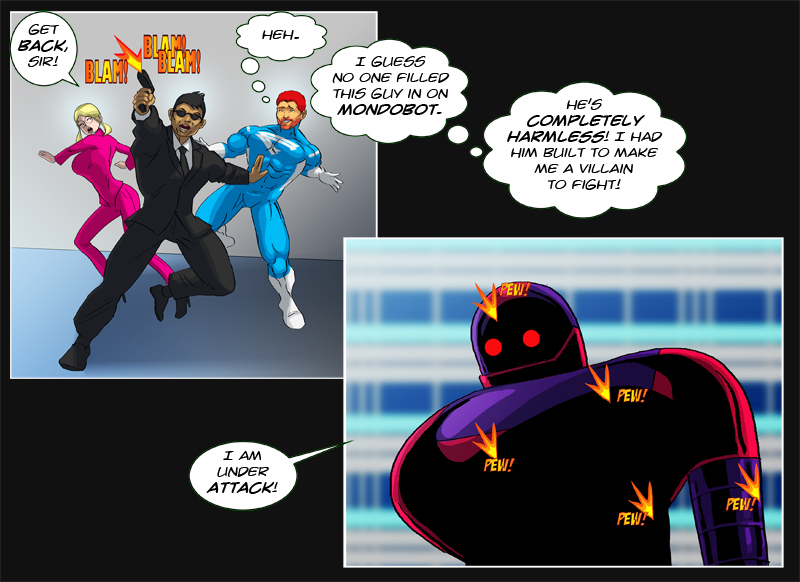 Issue 10 - 'Robo-Rowdydow' Page 9