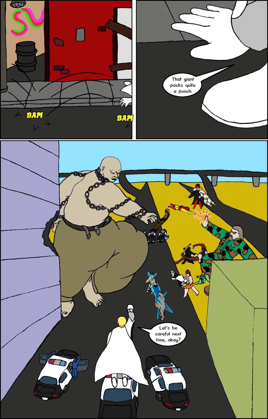 Page 1: issue 26 - Allies, Cops, Adversaries, Brawl