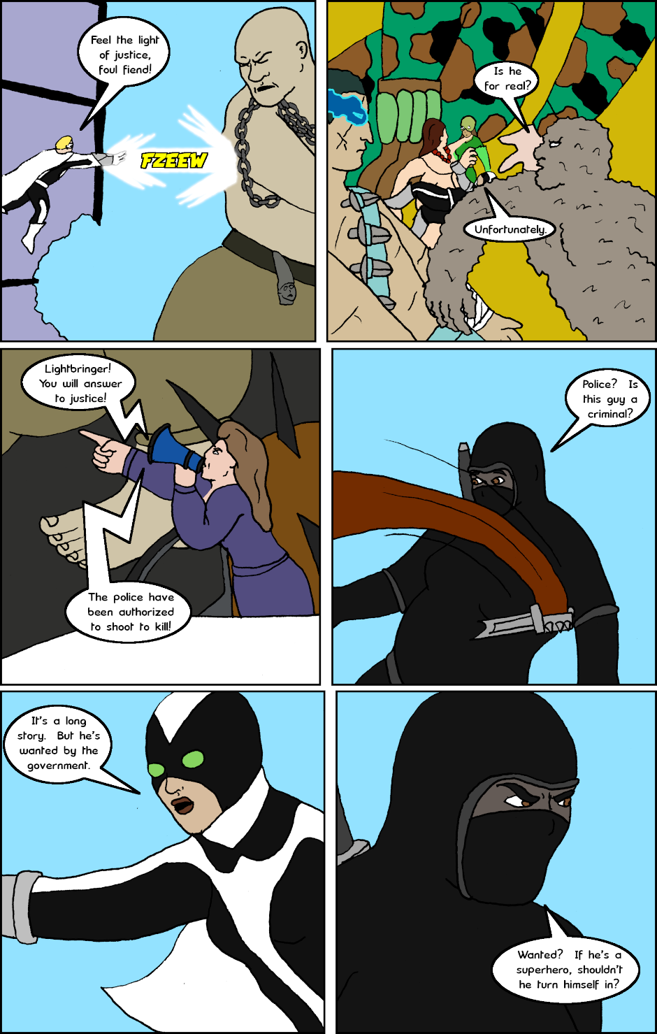 Page 3: issue 26 - Allies, Cops, Adversaries, Brawl