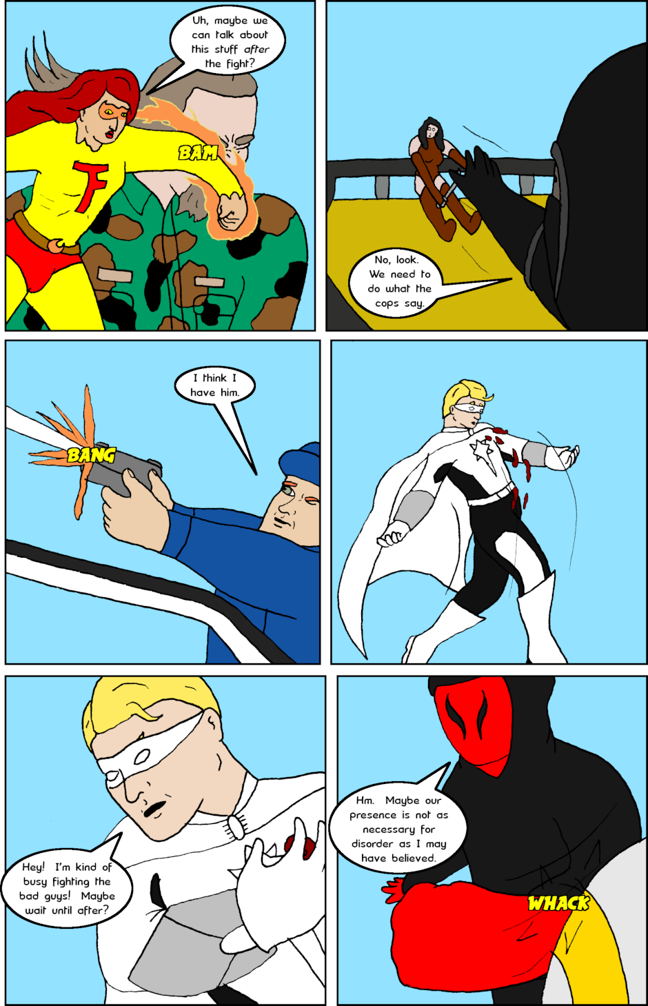 Page 4: issue 26 - Allies, Cops, Adversaries, Brawl