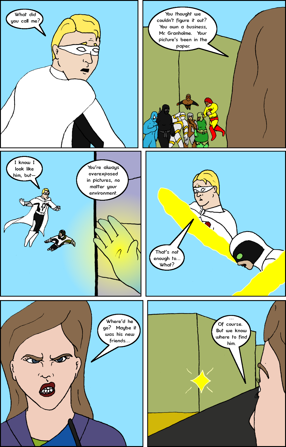 Page 6: issue 26 - Allies, Cops, Adversaries, Brawl