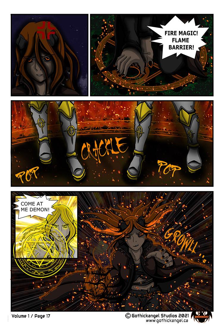 Darknight Manga Page 17 - Council vs Shadow