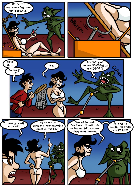 Cryptids Down Under - Part 4 (by argylefox)