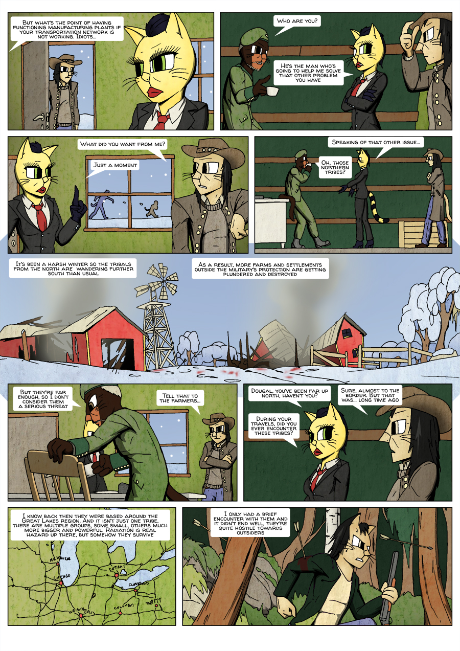 Ninth Life: Dead of Winter page 3
