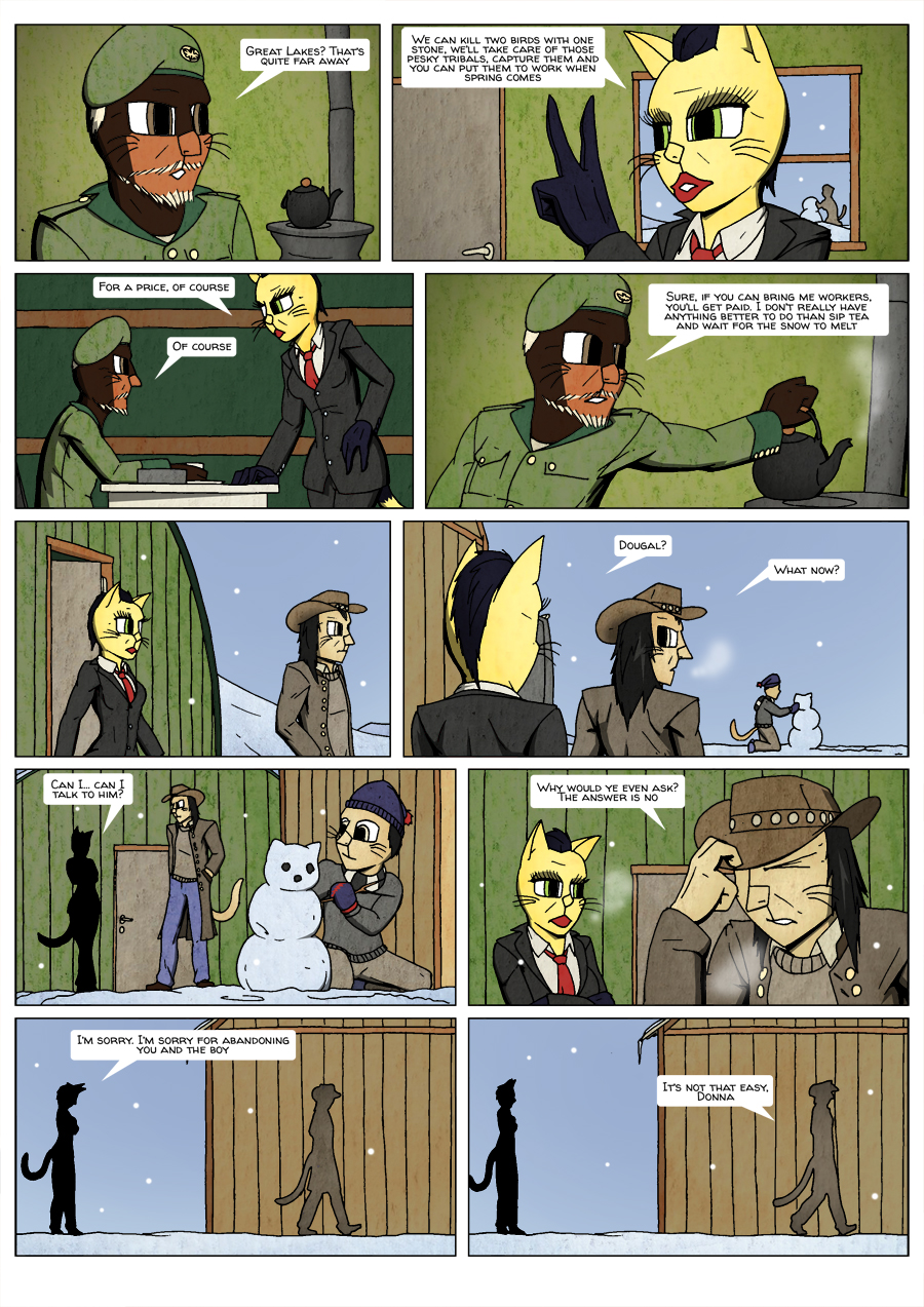 Ninth Life: Dead of Winter page 4