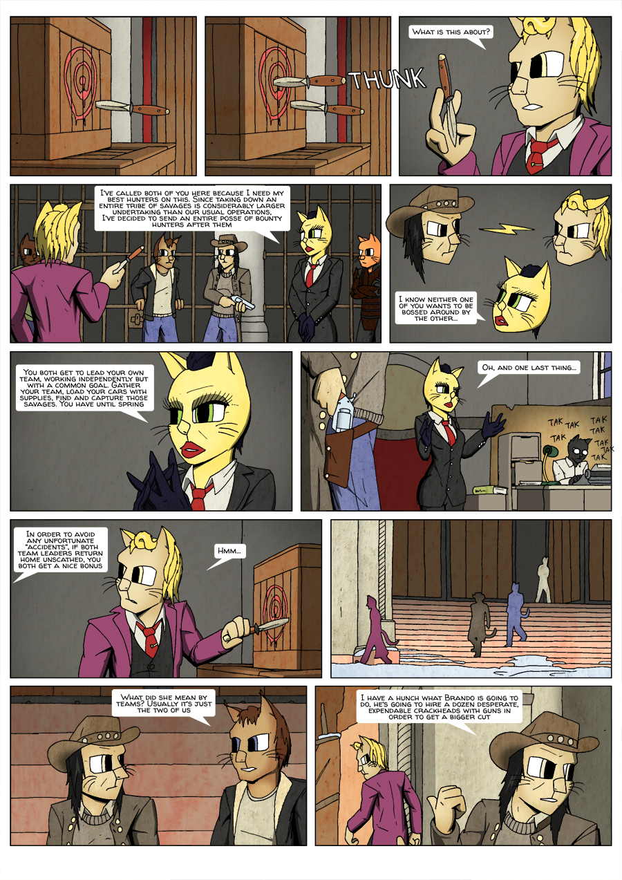 Ninth Life: Dead of Winter page 5