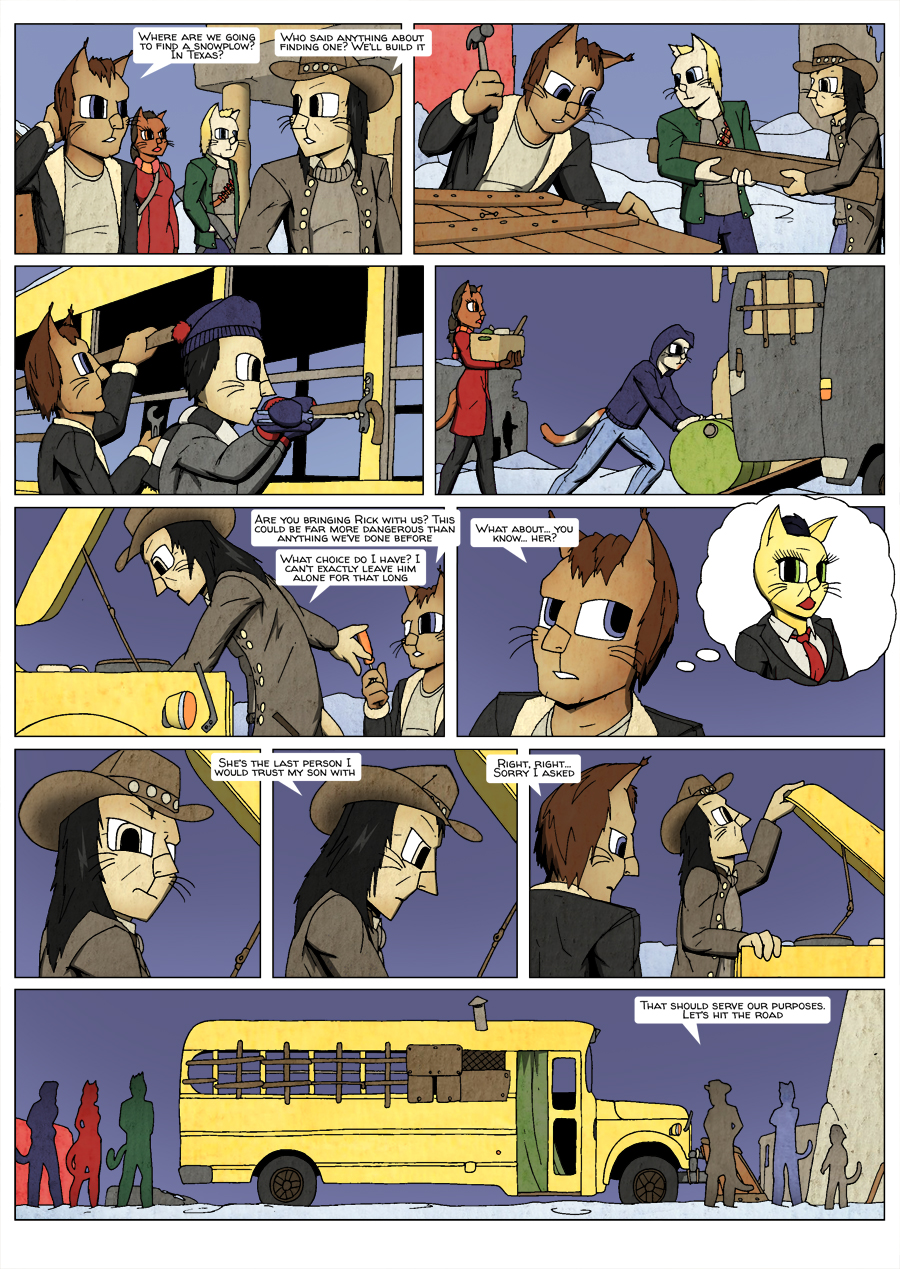 Ninth Life: Dead of Winter page 7