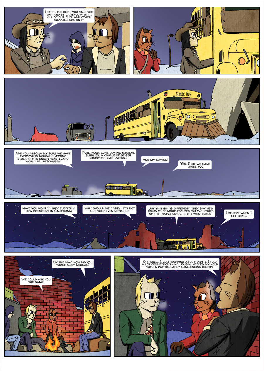 Ninth Life: Dead of Winter page 8