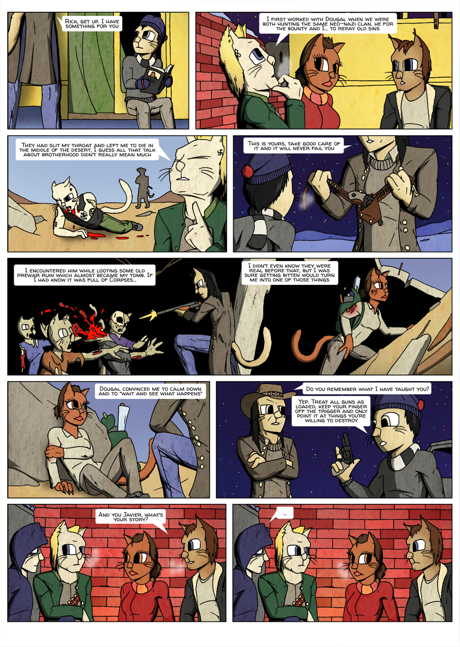 Ninth Life: Dead of Winter page 9