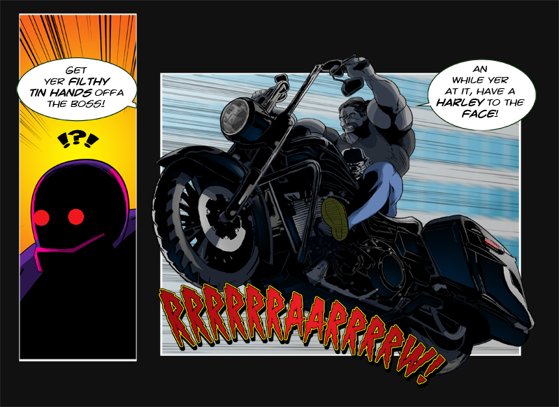 Issue 10 - 'Robo-Rowdydow' Page 13