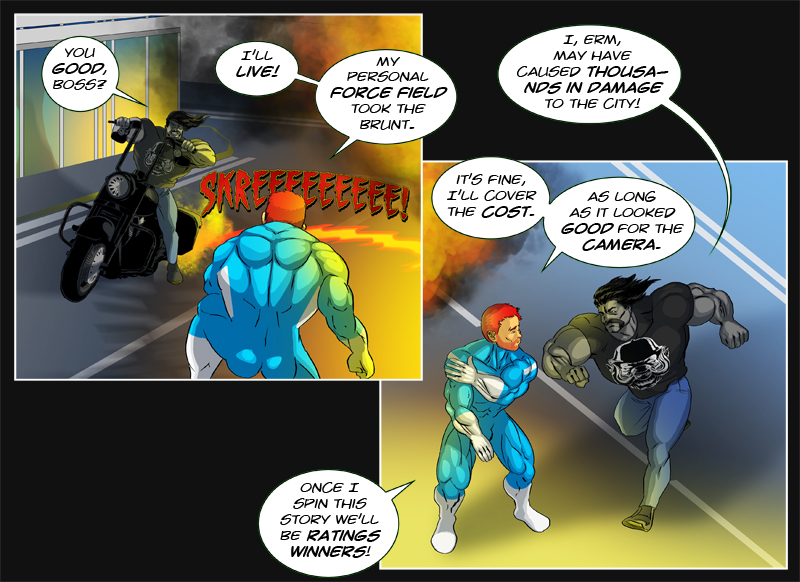 Issue 10 - 'Robo-Rowdydow' Page 14