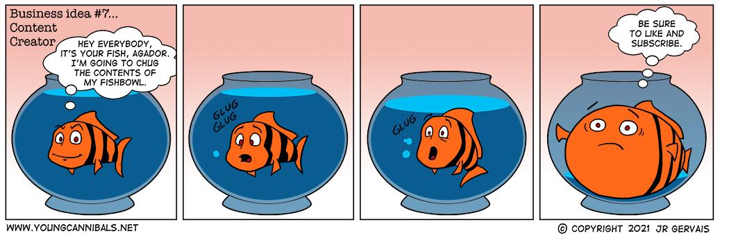 The Logan Paul of Fish