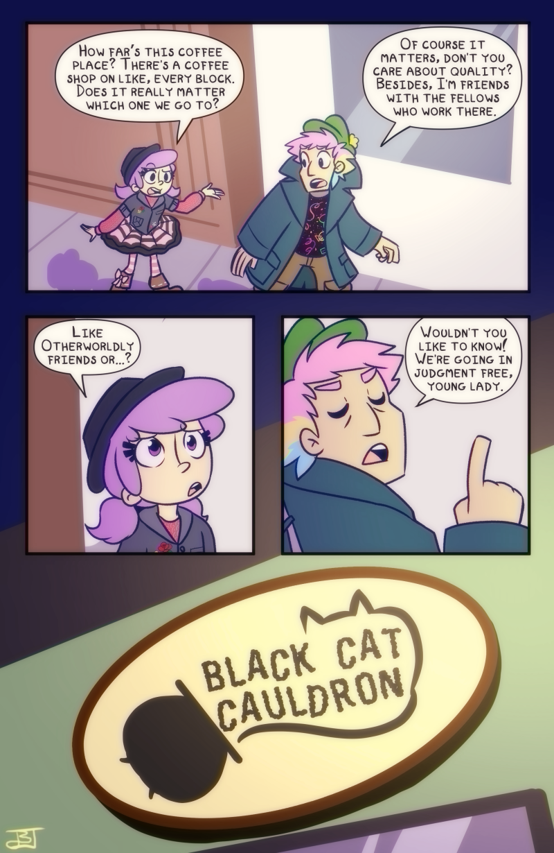 Chapter 10: Very Superstitious - Page 19
