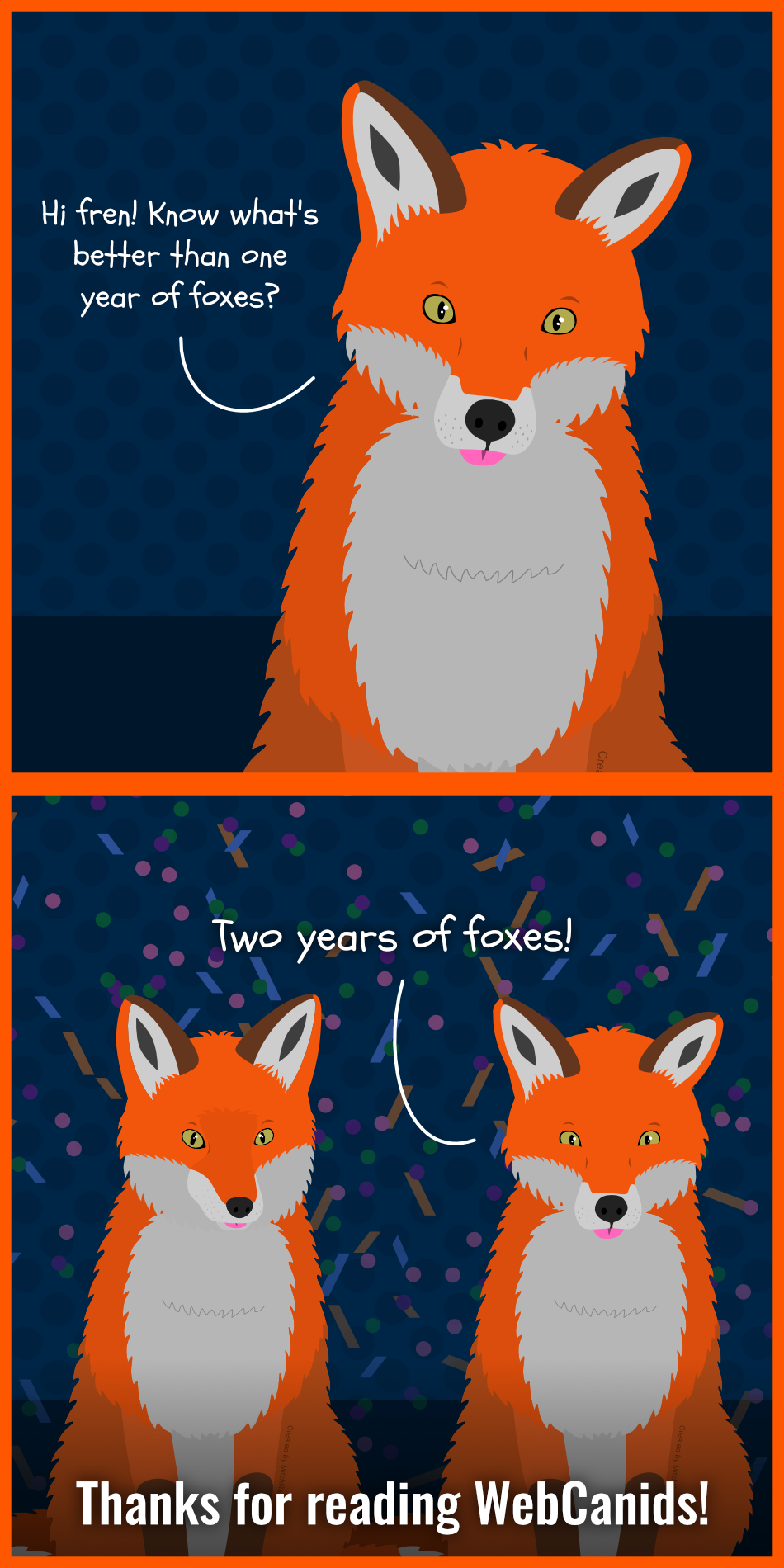 Thanks for Two Years!
