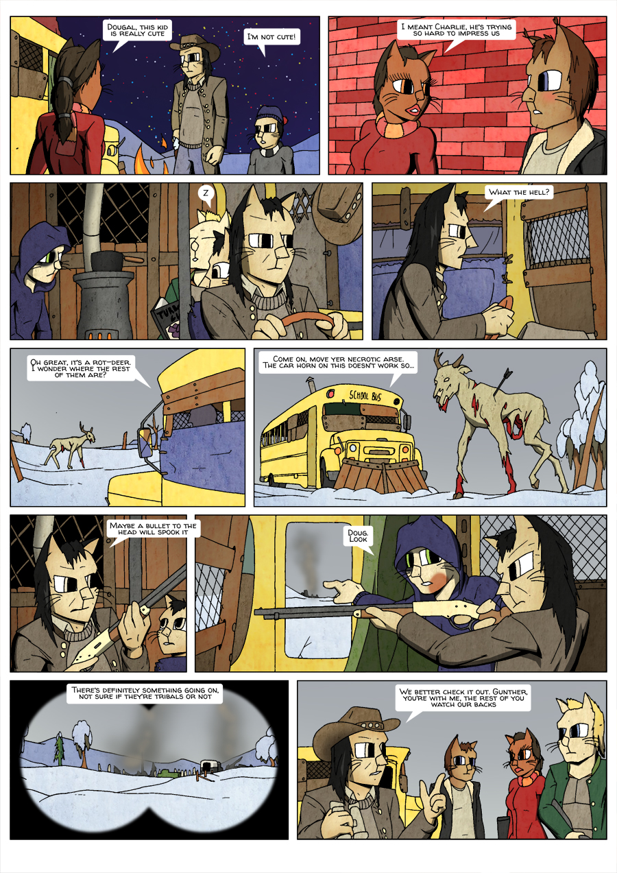 Ninth Life: Dead of Winter page 10