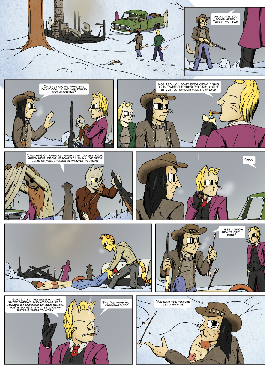 Ninth Life: Dead of Winter page 11