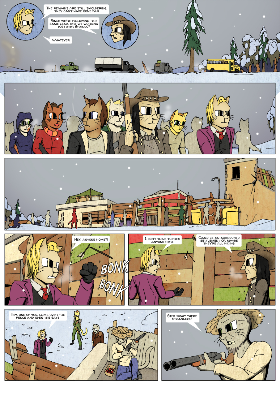 Ninth Life: Dead of Winter page 12