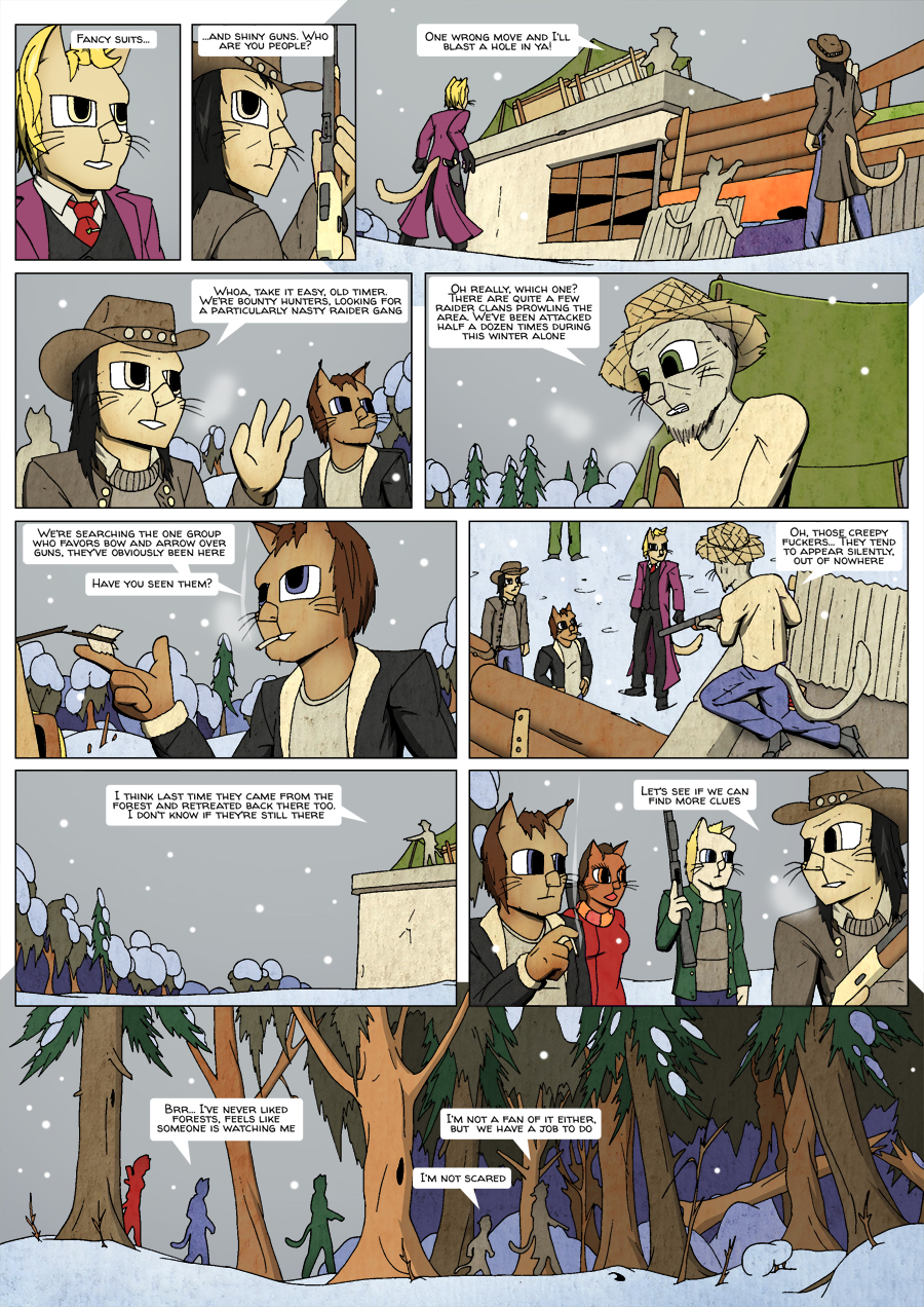 Ninth Life: Dead of Winter page 13