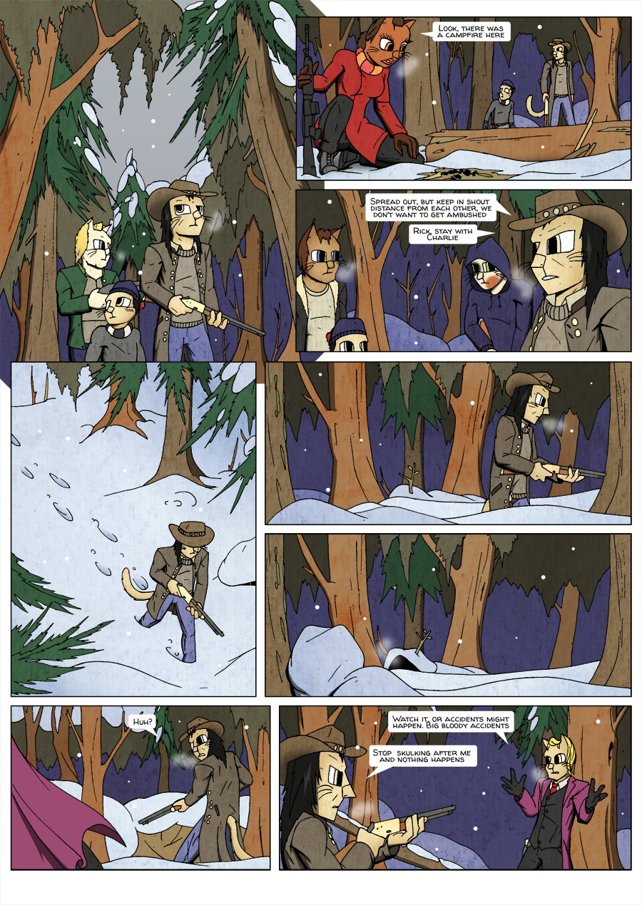 Ninth Life: Dead of Winter page 14
