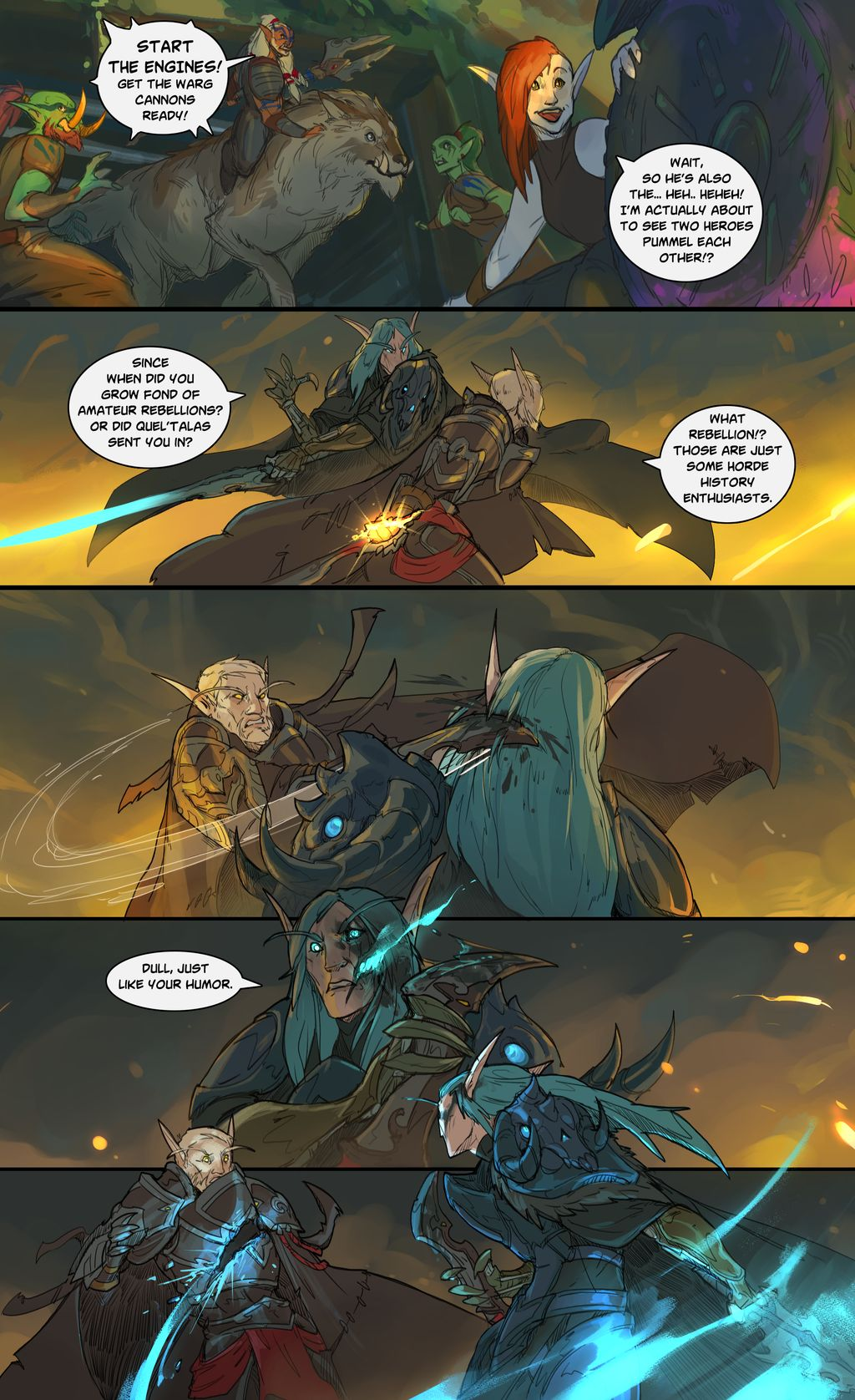 Warcraft: lightreaver Page 11 chapter 4