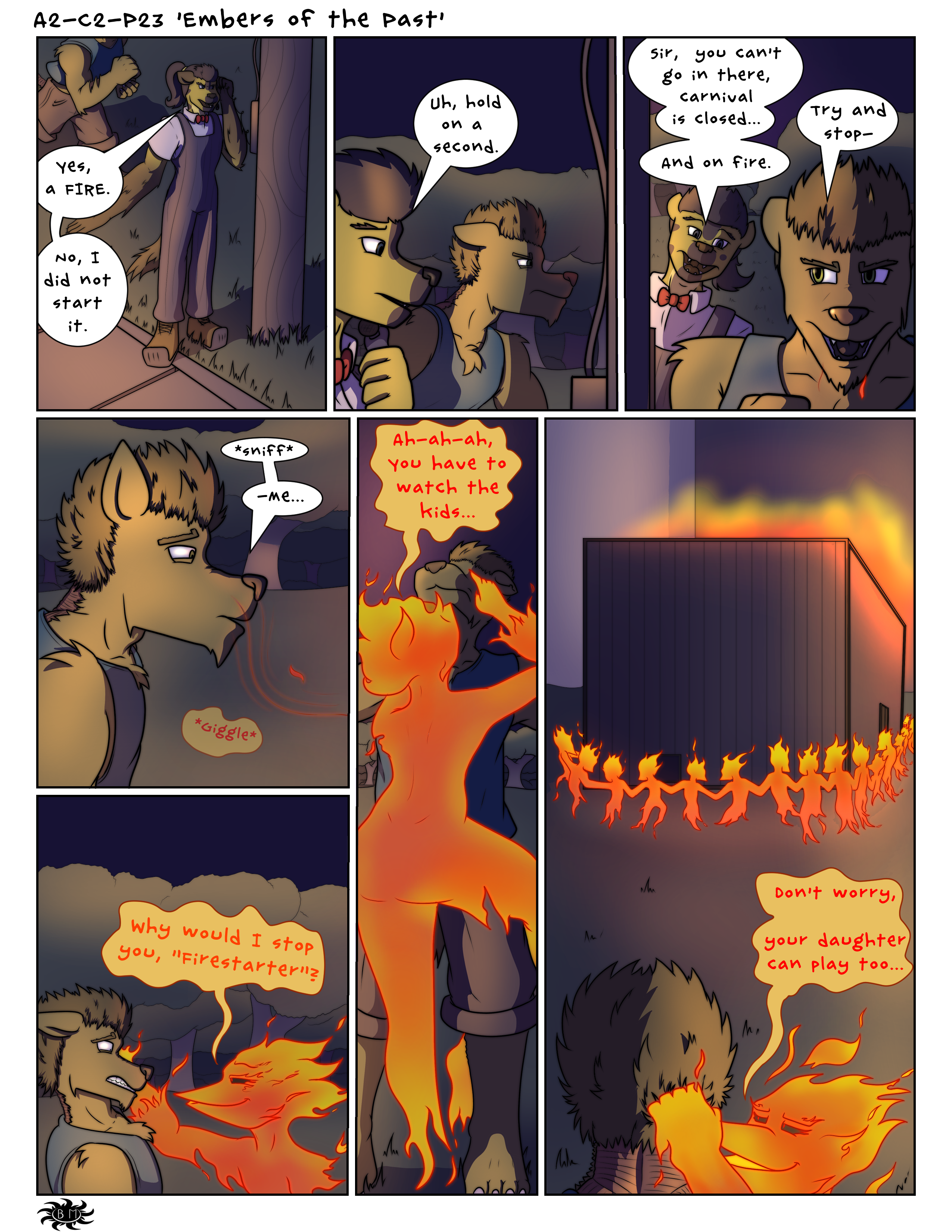 A2-C2-P23 'Embers of the Past'