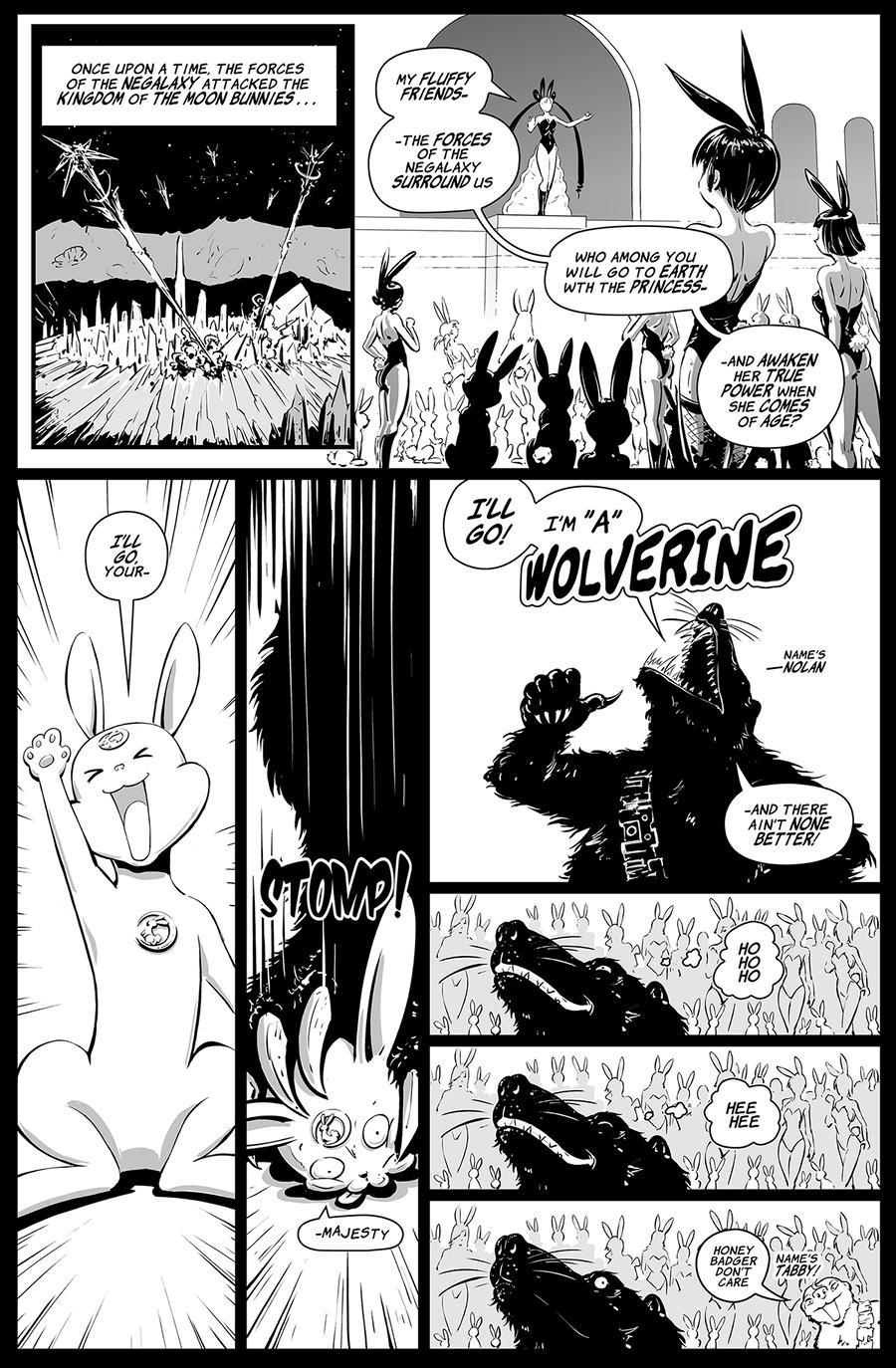Moon Weapon Seaman X pg 1