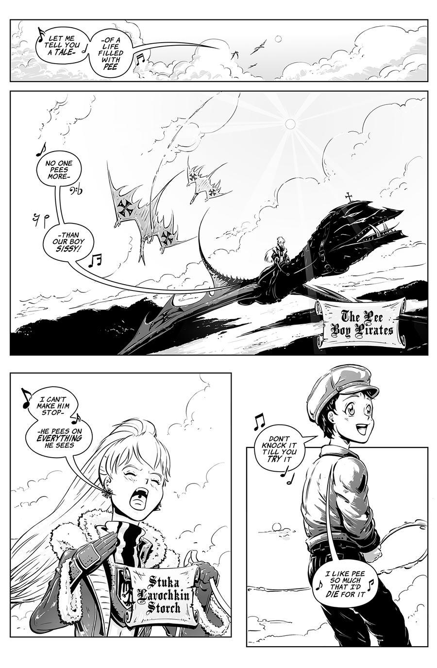 Sky Pirate Evangelium pg 1