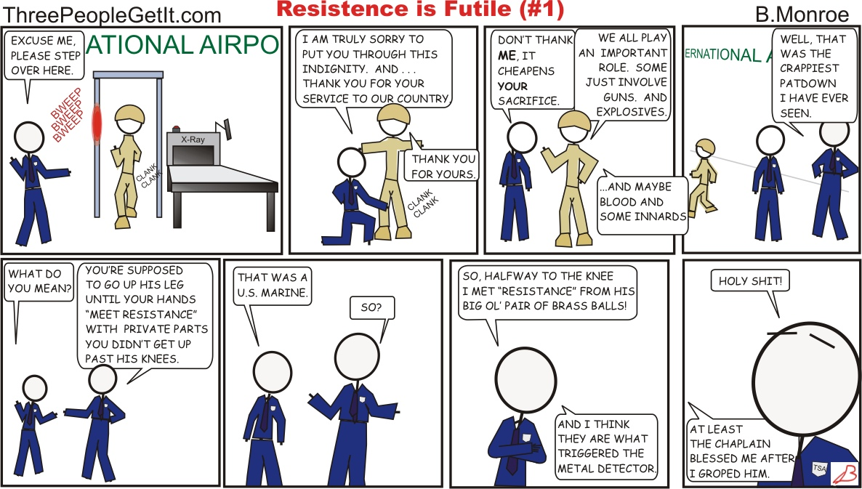 TSA Resistance is Futile