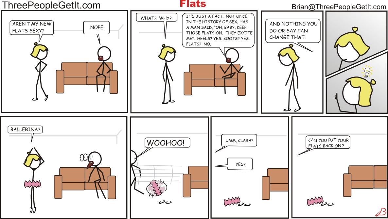 Flats Aren't Sexy