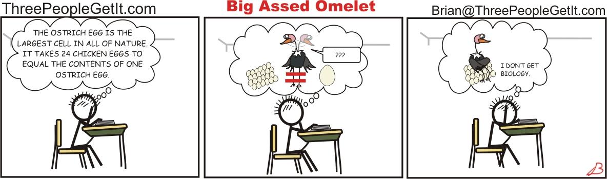 Big Assed Omelet